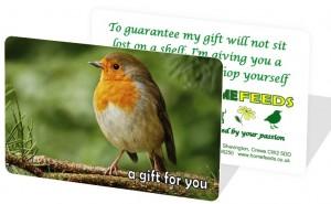 Gift Card Bird